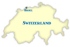 Basel Location Map